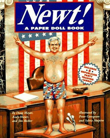 9780028604374: Newt!: A Paper Doll Book (Macmillan Humor Book)