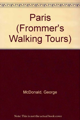 9780028604695: Frommer's Walking Tours: Paris (2nd Edition)