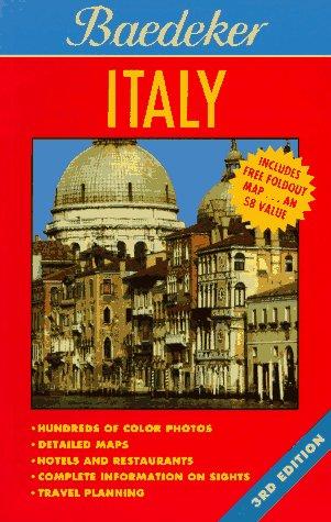 Baedeker Italy, 1996 (BAEDEKER'S ITALY): Printing