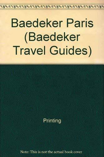 Baedeker Paris (Baedeker Travel Guides): Printing