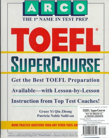 9780028605654: Toefl Supercourse: Student's Book and Cassette (Includes 3 Cassettes)