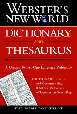 9780028605746: Webster's New World Dictionary and Thesaurus