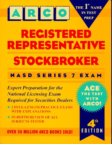 9780028605944: Registered Representative Stockbroker: Nasd Series 7 Exam (Arco Professional Certificationa Dn Licensing Exam Series)