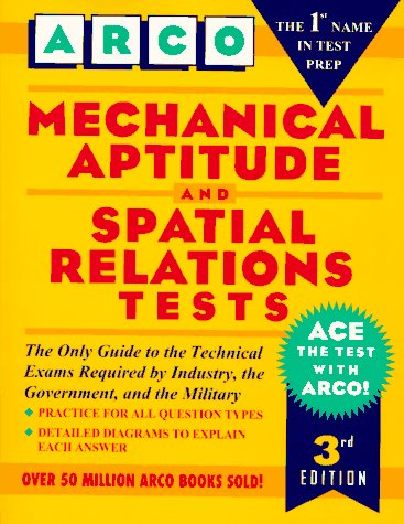 9780028606002: Mechanical Aptitude and Spatial Relations Tests (Arco Aptitude Test Preparation)