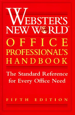 9780028606194: Webster's New World Office Professional's Handbook (Webster's New World Office Professional's Desk Reference)