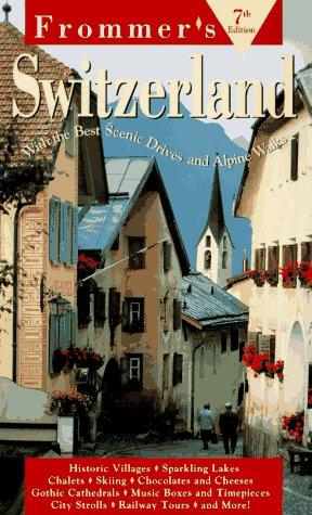 9780028606378: Switzerland and Liechtenstein (Frommer's Comprehensive Travel Guides)