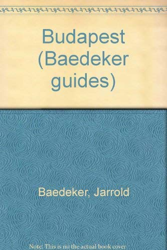 9780028606729: Baedeker Budapest (Baedeker's Budapest)