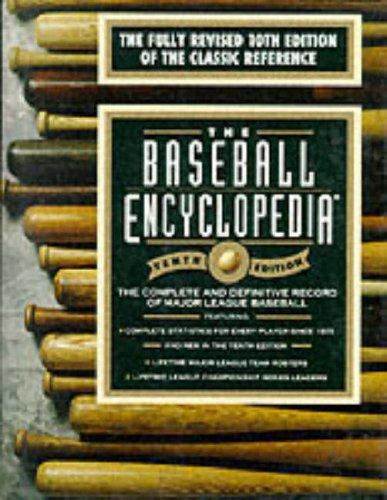 9780028608150: The Baseball Encyclopedia: The Complete and Definitive Record of Major League Baseball