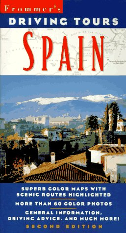 9780028608891: Frommer's Driving Tours: Spain 2e