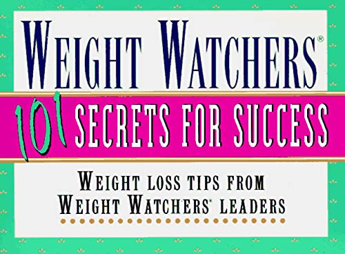 9780028609867: Weight Watchers 101 Secrets for Success: Weight Loss Tips From Weight Watchers Leaders