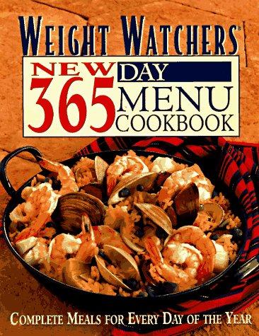 9780028610153: Weight Watchers New 365 Day Menu Cookbook: Complete Meals for Every Day of the Year
