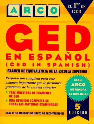 9780028610634: Ged En Espanol: Examen De Equivalencia De LA Escuela Superior (5th ed) (Spanish Edition)