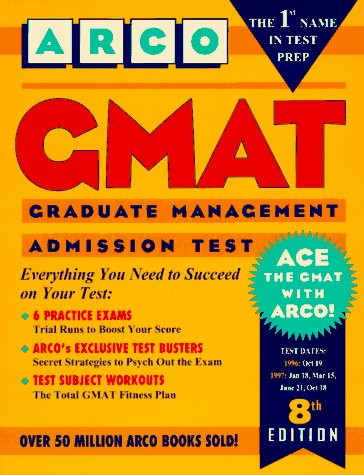 9780028610733: Gmat: Graduate Management Admission Test (8th ed)