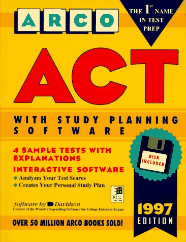 9780028610818: Act: User's Manual With Study Planning Software (Book and Disk.)
