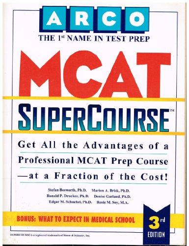 9780028610832: MCAT Supercourse 3E (Arco Test Preparation)
