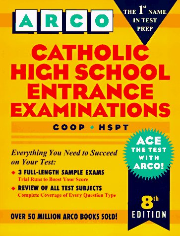9780028611839: Catholic High School Entrance Examinations: Coop - Hspt (Arco Test Preparation)
