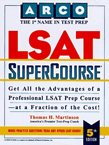 9780028611846: Peterson's Lsat Supercourse