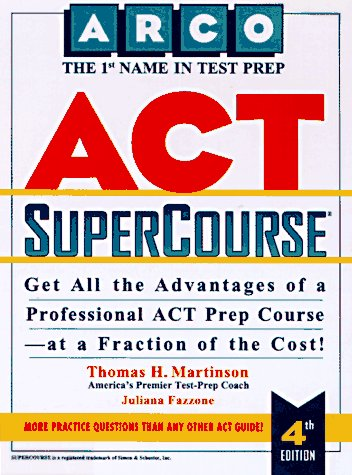 9780028611860: Act Supercourse (Supercourse for the Act)