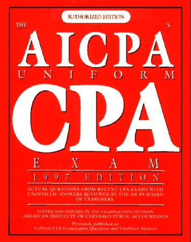 9780028611914: The Aicpa's Uniform Cpa Exam (Serial)