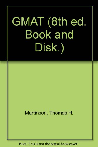9780028613109: Gmat: User's Manual With Tests on Disk (8th ed. Book and Disk.)