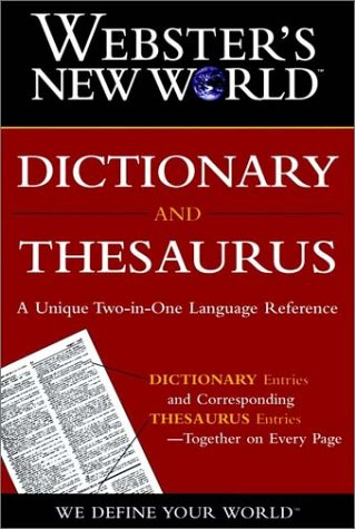 9780028613185: Webster's New World Dictionary & Thesaurus