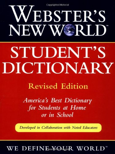 9780028613192: Webster's New World Student's Dictionary