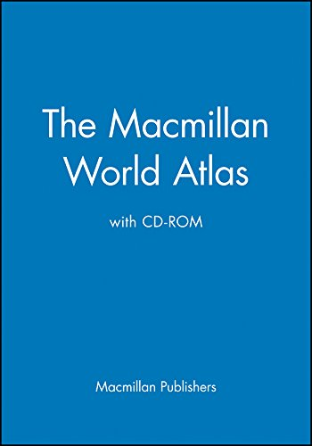 9780028614458: The Macmillan World Atlas with CD-ROM