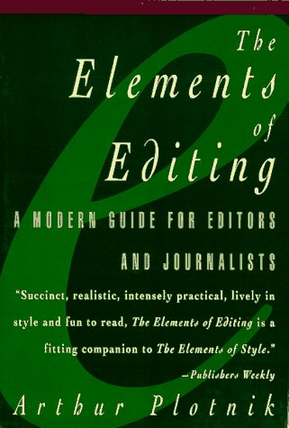 9780028614519: The Elements of Editing