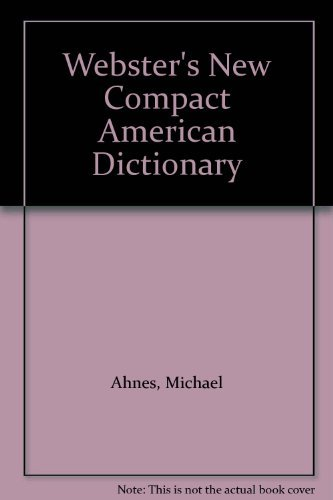 9780028614625: Webster's New Compact American Dictionary