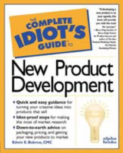 9780028614892: The Complete Idiot's Guide to New Product Development