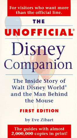 9780028615578: The Unofficial Disney Reader (Frommer's unofficial guides)