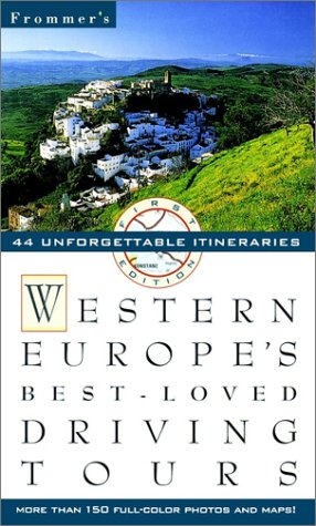 9780028615677: Frommer's Western Europe Best Loved Driving Tours, 1st Edition