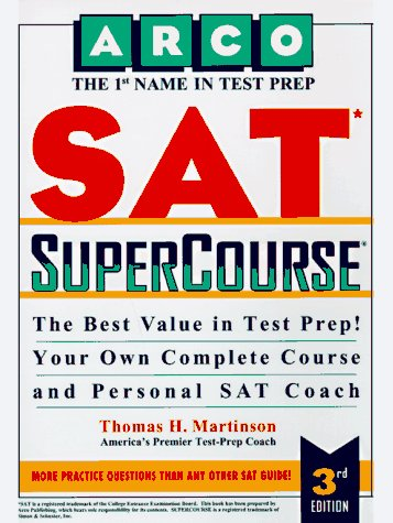 9780028615967: Arco Sat Supercourse With Tests on Disk