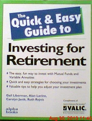9780028616148: Quick and Easy Guide to Investing for Retirement