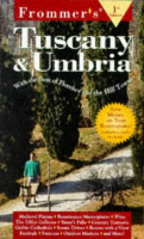 9780028616582: Frommer's Tuscany & Umbria (1st Ed.)