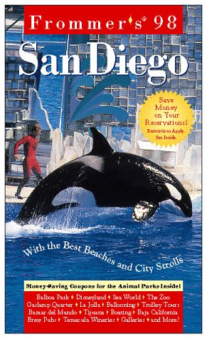 9780028616711: Frommer's San Diego '98
