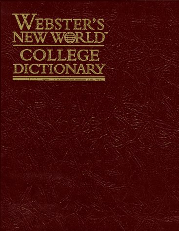 9780028616742: Webster's New World College Dictionary - Leather Kraft, Thumb-Indexed: The Definitive Guide American English, Internationally Renowned for Clarity, Precision and Ease of Use