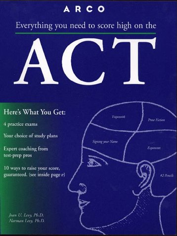 9780028616971: Act: American College Testing Program (Master the New Act Assessment)