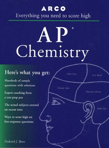 9780028617084: AP Chemistry 3E (Arco Master the AP Chemistry Test)