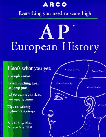 9780028617169: AP European History 3E (Arco Master the AP European History Test)