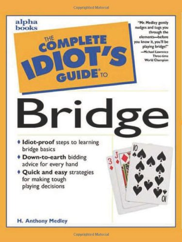 9780028617350: The Complete Idiot's Guide to Bridge