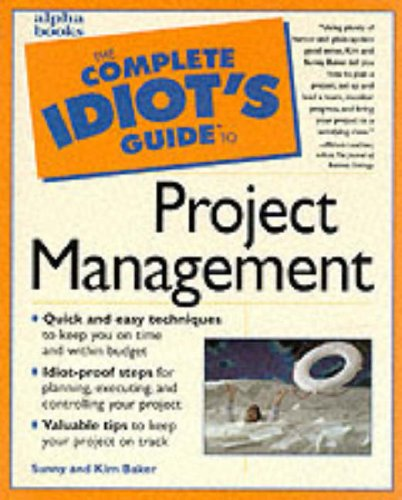9780028617459: The Complete Idiot's Guide to Project Management
