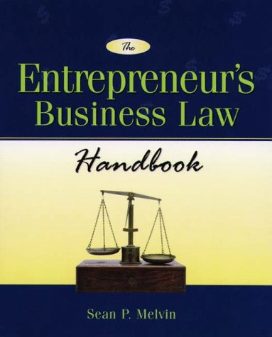 9780028617510: The Entrepreneur's Business Law Handbook