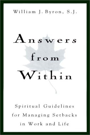 9780028617534: Answers From Within: Spiritual Guidelines for Managing Setbacks in Work and Life