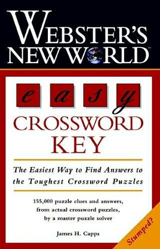 9780028618371: Webster's New World Easy Crossword Key