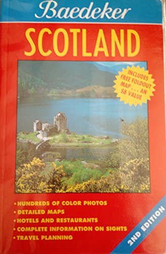 9780028618746: Baedeker'S Scotland 2nd Ed.