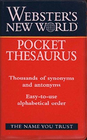 9780028618869: Webster's New World Pocket Thesaurus