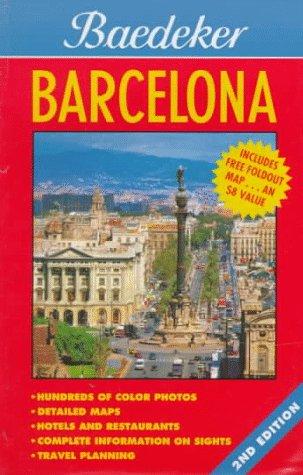 9780028619101: Baedeker Barcelona (Baedeker's Barcelona)