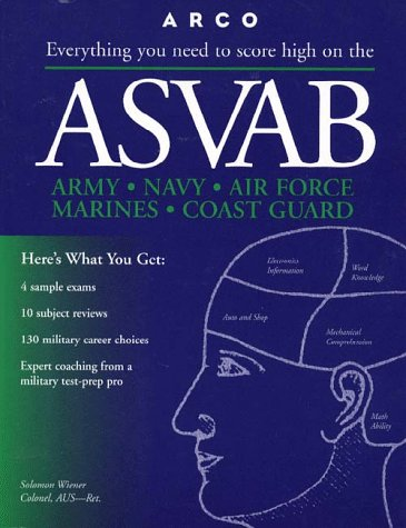 9780028619330: Everything You Need to Score High on the Asvab (Master the Asvab (Book Only))