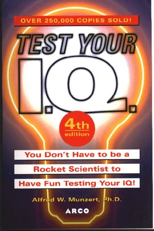 9780028619361: Test Your I.Q (4th ed)